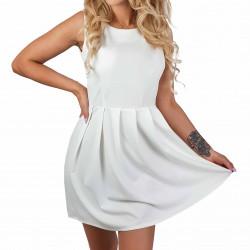 Sukienka elegancka biała...