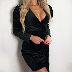 Sukienka elegancka czarna...