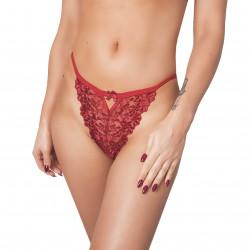 Stringi damskie czerwone...