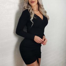 Sukienka mini czarna MADAMM...