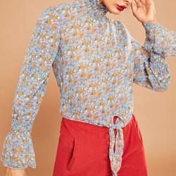 Koszula wiązana kwiaty Ola...