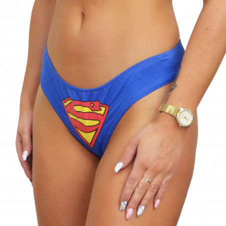 Figi damskie superman...